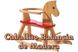 Caballito Balancín de Madera