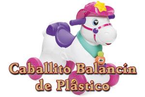 Caballito Balancín de Plástico