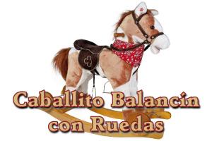 Caballito Balancín con Ruedas