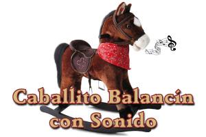 Caballito Balancín con Sonido
